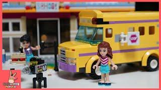 레고 프렌즈 하트레이크 엔터테이먼트 스쿨 간 장난감 친구들 놀이 ♡ 장난감 애니 Lego friends Entertainment school | 말이야와아이들 MariAndKids