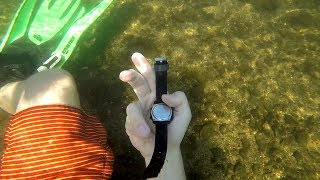 Found Watch, Bluetooth Speaker, Cash, Garmin VivoFit, Sunglasses in the River! (River Treasure)!