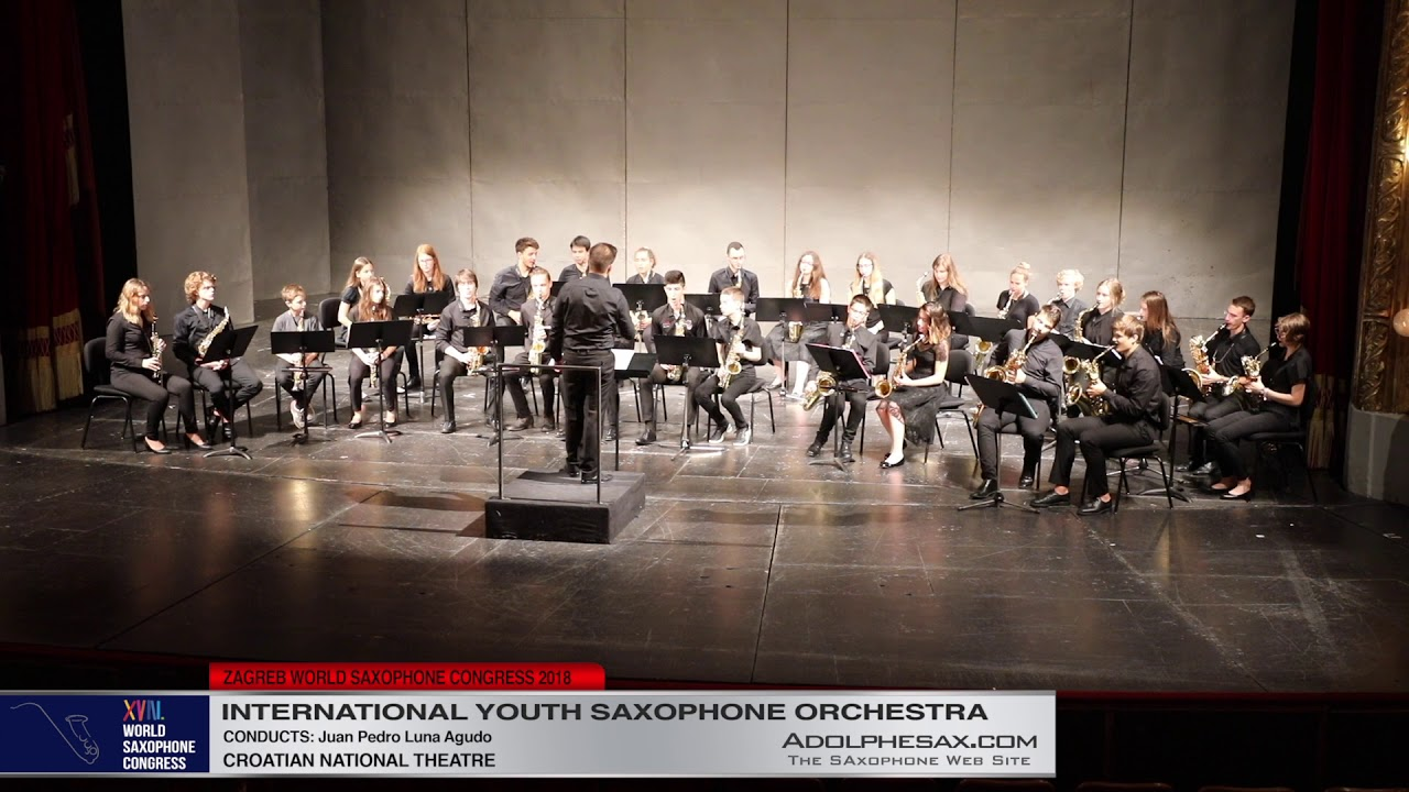 2   Youth Saxophone Orchestra   XVIII World Sax Congress 2018 #adolphesax
