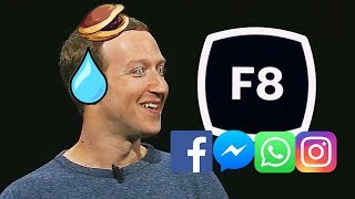 Facebook發佈會 誠實豆沙包版   FB IG Whatsapp 重大更新F8懶人包