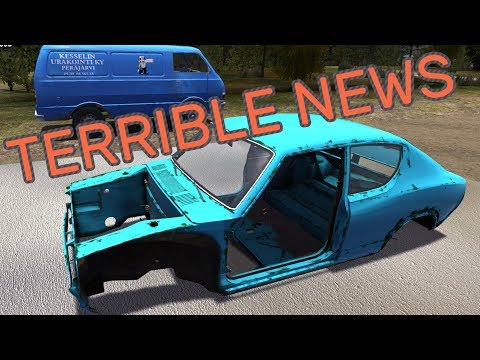 TERRIBLE NEWS - My Summer Car