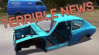 TERRIBLE NEWS - My Summer Car