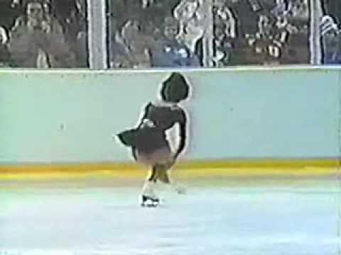 Emi Watanabe 1980 Lake Placid Olympics SP
