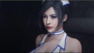 Resident Evil 2 Mod Ada Wong White Bikini Doctor 4K UHD