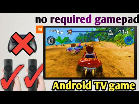 Android TV Games, No Gamepad Required