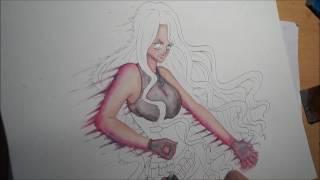 Speedpaint: One Piece OC Elisabeth Ray ~Ready to Fight~