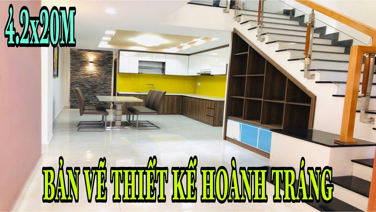Bán nhà Gò Vấp Tp.HCM[80🌹] Nhà phố diện tích khủng bản vẽ thiết kế đẹp tặng full nội thất giá rẻ.