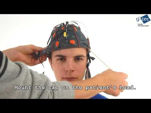 g.Nautilus active Wireless EEG with dry electrodes | video lecture