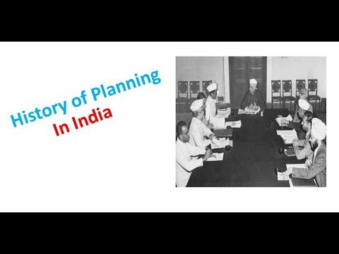 History of Planning in India
