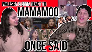 Download Waleska & Efra react to Mamamoo once said   REACTION 💕😂
