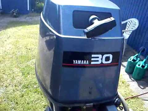 2000 yamaha 30 hp outboard youtube for 30 hp yamaha outboard