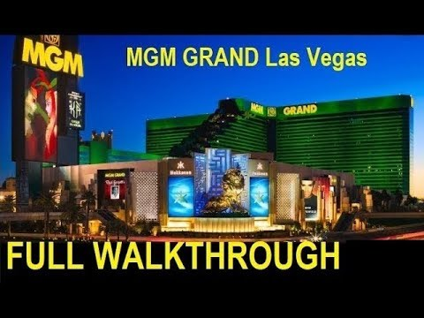 MGM Grand Vegas Walk-through: Get Your Running Shoes!