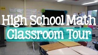 High School Math Classroom Tour | Back to School Series