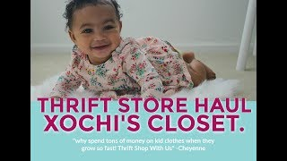 Thrift Store Haul | Xochi's Closet. | Thrift with Us