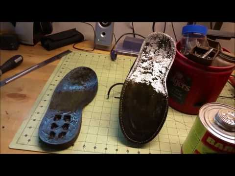 How to Fix a Boot or Shoe Sole with Barge Cement