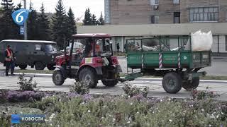 Работа городских коммунальных служб в осенне зимний период