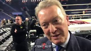 FRANK WARREN PLANS ON SAUNDERS TO FACE CANELO/GOLOVKIN WINNER IN SEPTEMBER OF 2018!