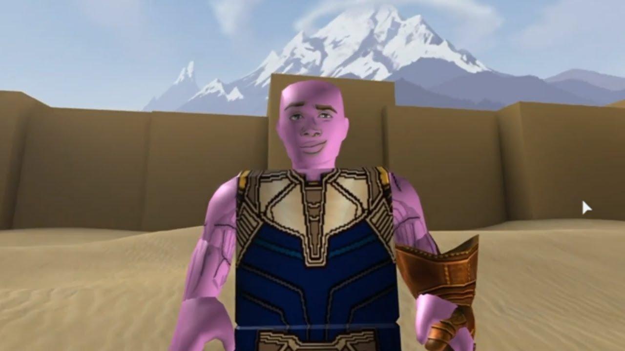 So I Got The Infinity Gauntlet in ROBLOX