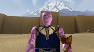 J'ai donc obtenu le Gauntlet Infinity dans ROBLOX ...