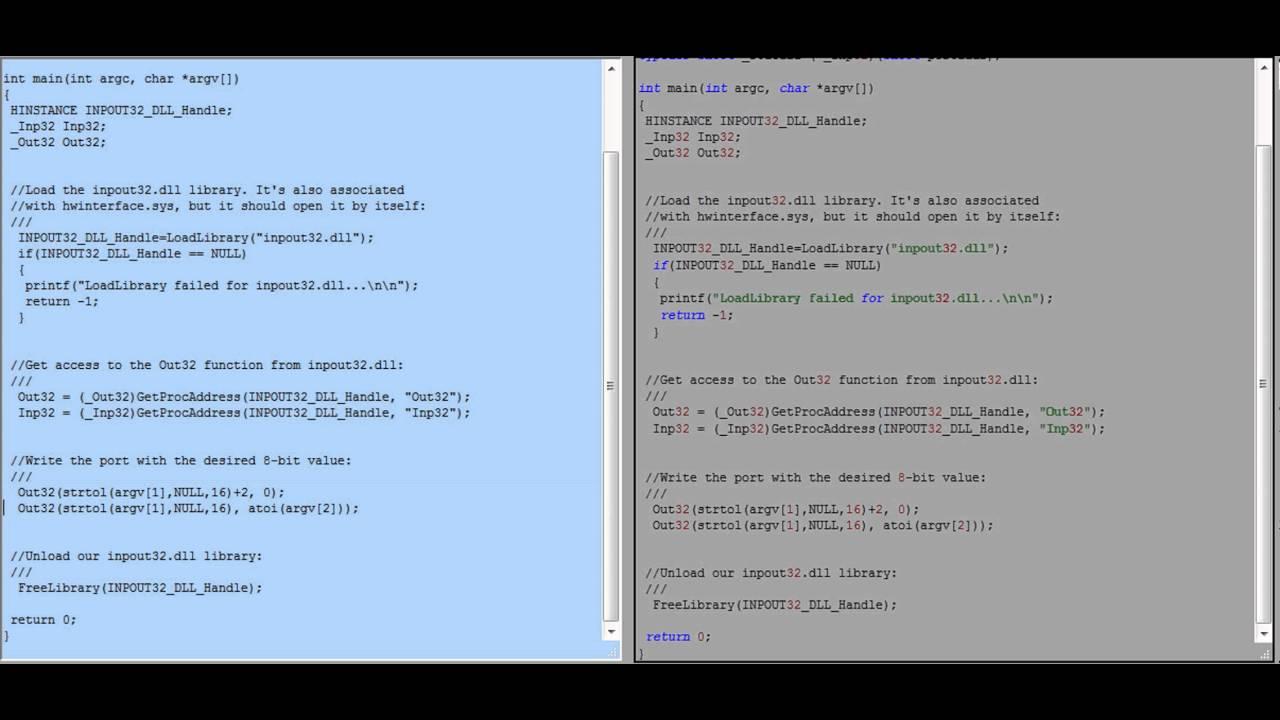 Basics Of Parallel Port Programming Under Windows Part 2