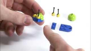 Lego® Creator Designer Tips - Building Mr. Snail