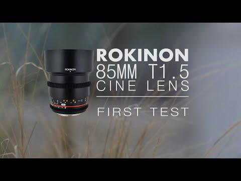 Rokinon 85mm T1.5 Cine Lens Sample/Test Shots