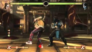 Mortal Kombat 9 - Johny Cage обучение + комбо