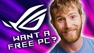 Who wants a free PC?! ROG Rig Reboot 2020 Announcement!