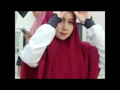 Tutorial Tudung Labuh Koshibo TL Naurah AFE from YouTube · Duration:  27 seconds
