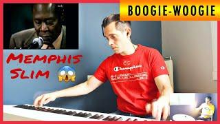 🔴 Memphis Slim jamming with his fan Ben Toury 🔴