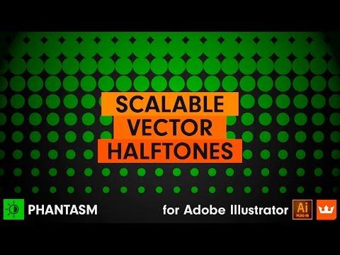 ep.6 Halftone: How to Easily Create a Halftone in Illustrator   PHANTASM v3