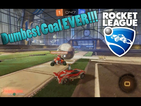 Rocket League | THE DUMBEST PLAY EVER!!!