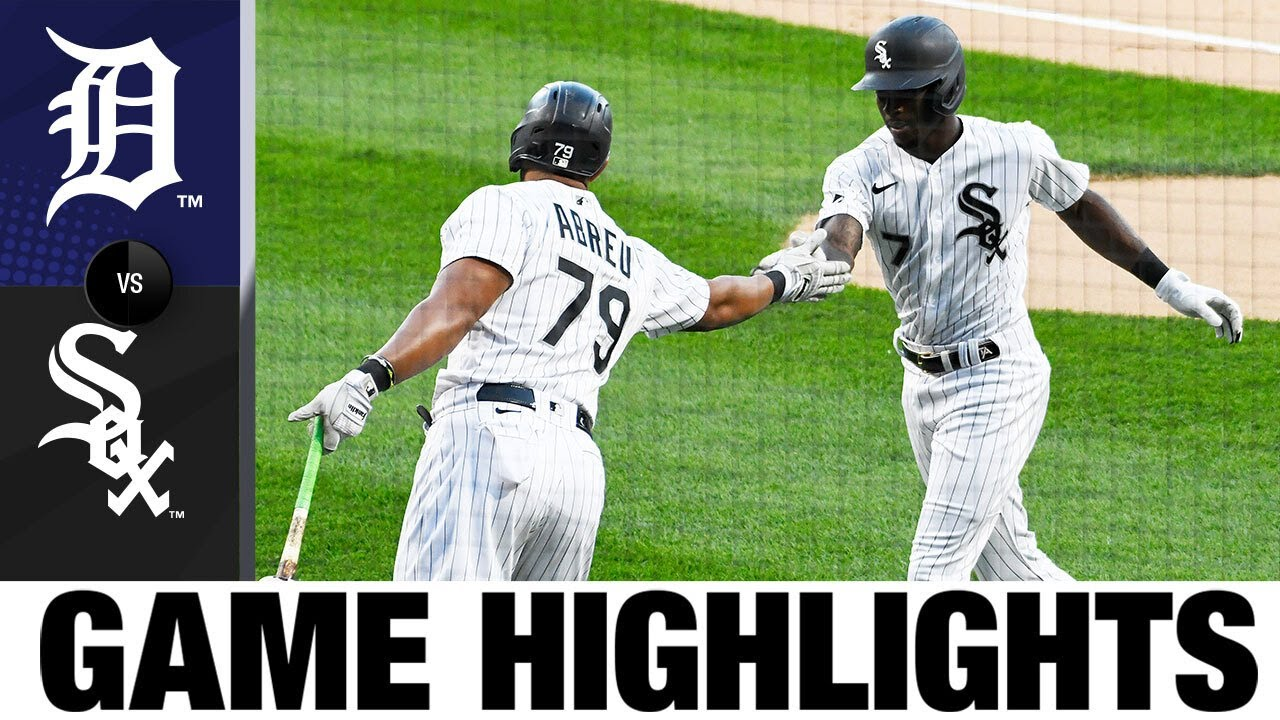 Tim Anderson, Jose Abreu lead White Sox in 10-4 win | Tigers-White Sox Game Highlights 8/18/20