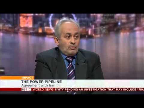 BBC World News impact iran pakistan gas 110313 at 14 hours