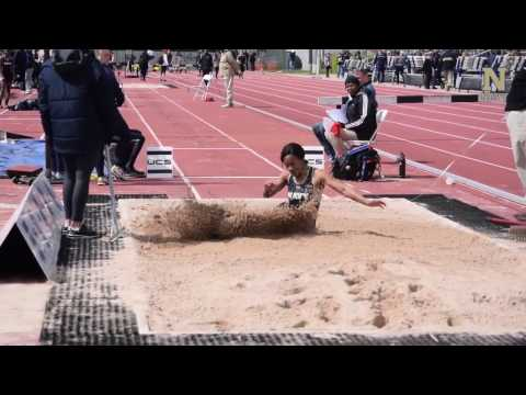 Navy Womens Track and Field - Highlights vs Army