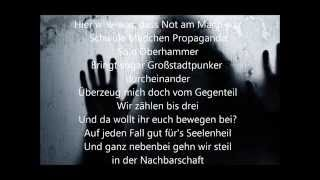Callejon - Schwule Mädchen - Lyrics