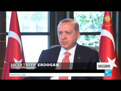 EXCLUSIVE - Interview with Turkey's president Recep Tayyip Erdogan