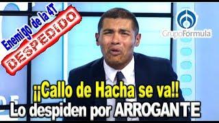 """Se llevó 47 millones con Peña, ahora se va """"Callo de hacha"""""""