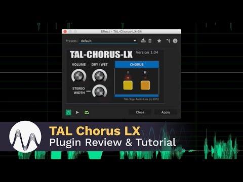TAL Chorus LX Plugin Review and Tutorial