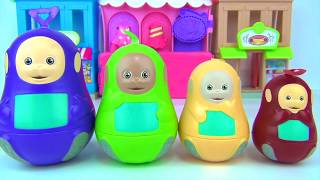 TELETUBBIES Nesting Dolls, Stacking Cups Lear...
