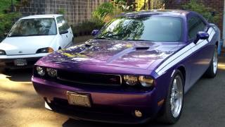 My 2013 Dodge Challenger R/T in Plum Crazy (exterior)