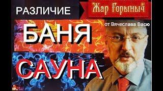 Чем отличается русская баня от сауны (видео)