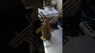 Karya seni kincir angin dari stick eskrim part II
