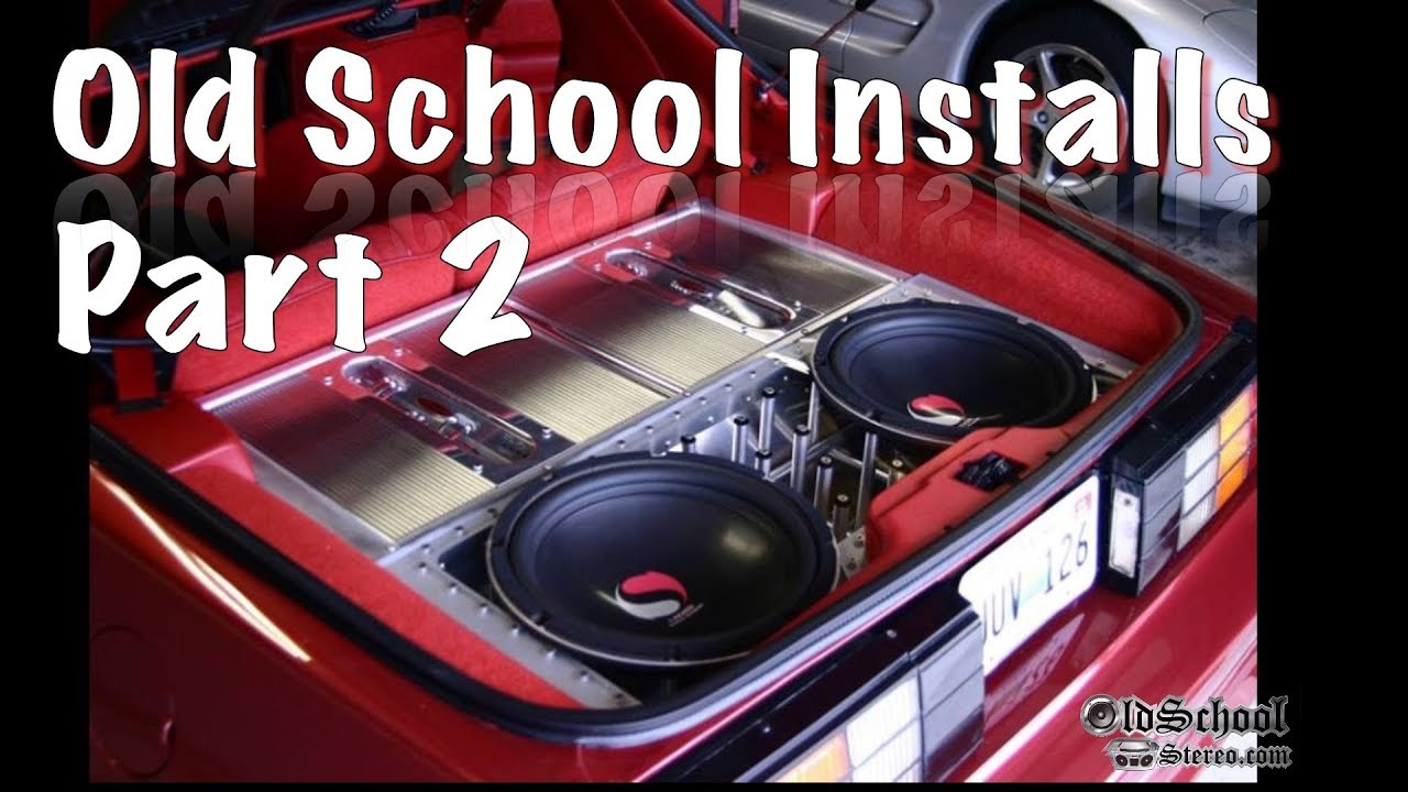old jl audio wiring old school car audio installs compilation volume 2 youtube  old school car audio installs