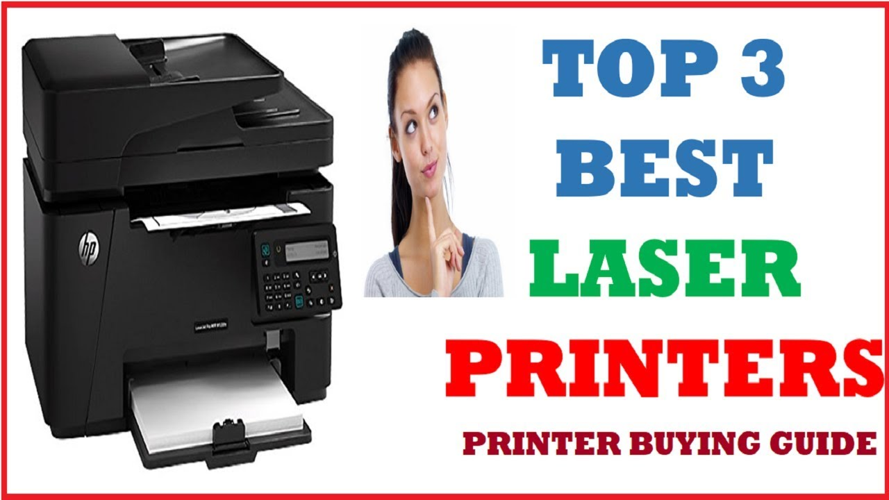 TOP 3 Best Laser Printers with Price || 2019 || In Hindi