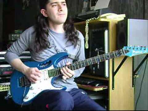 Steve Vai - Warm Regards - Guitar performance by Cesar Huesca