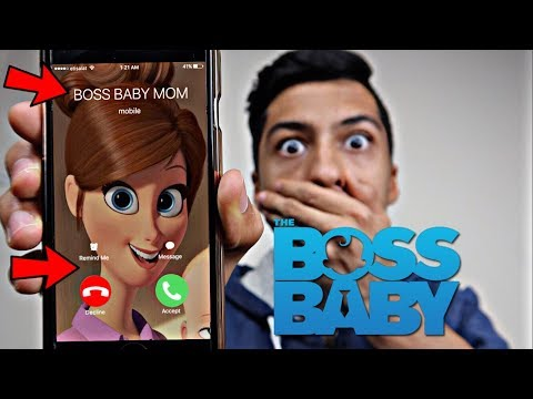 CALLING THE BOSS BABY MOM *OMG SHE ACTUALLY ANSWERED*