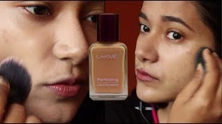 #DAY 6: Lakme Perfecting Liquid Foundation|| Base Products Under Rs 200