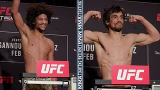 UFC Phoenix Official Weigh-Ins: Alex Caceres vs. Kron Gracie Make Weight - MMA Fighting