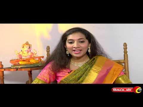 NANUM EN PATTUM ON CAPTAIN TV | SINGER SRIMADHUMITHA | VINAYAGAR CHATURTHI SPECIAL | 05.09.16
